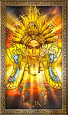 19 Аркан Солнце значение и толкование