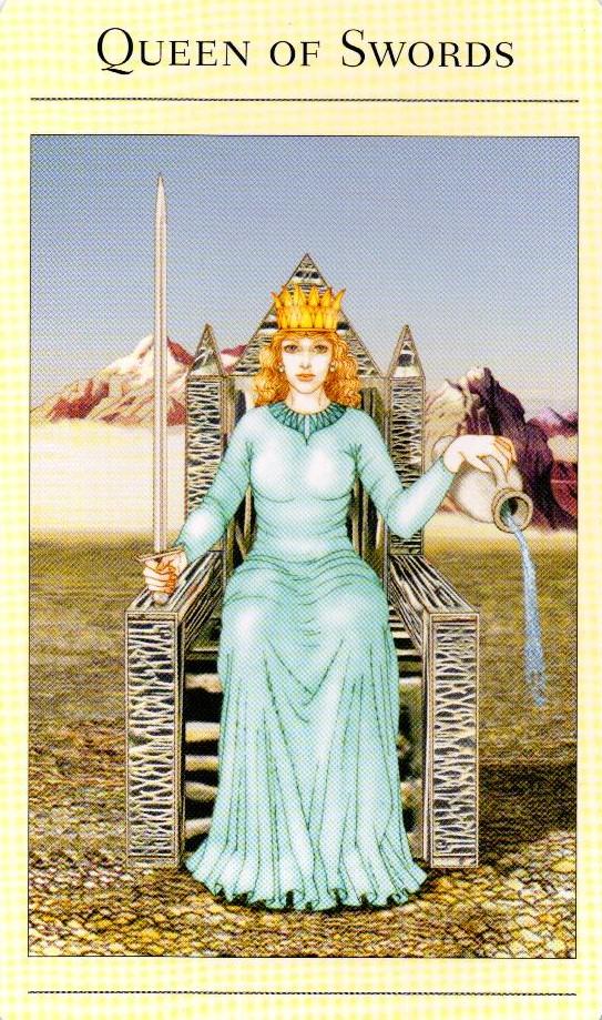 Королева Мечей (Дама) значение