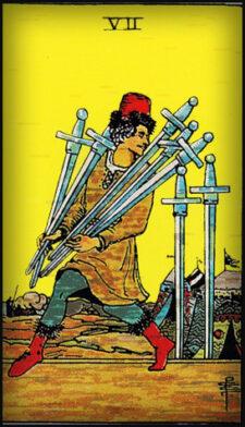 Семерка мечей значение