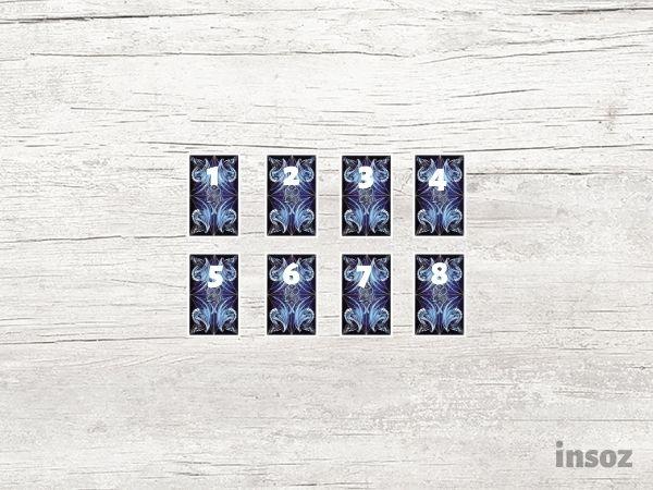 Расклад Ветер перемен на восемь карт
