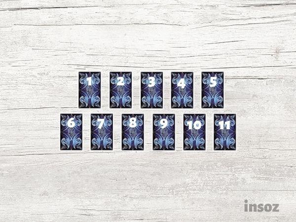 Расклад на жизнь из 11 карт