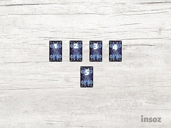 Расклад на жизнь из 5 карт