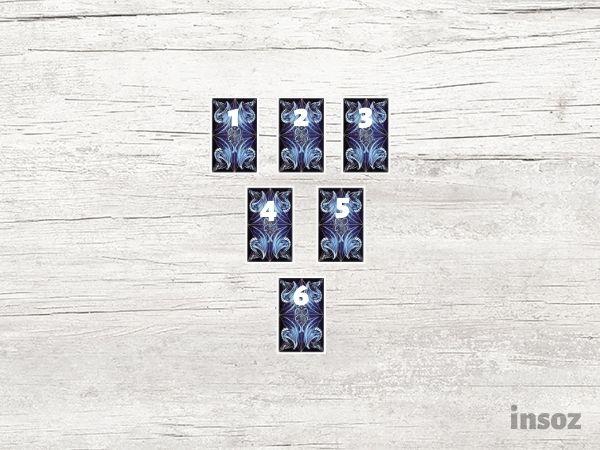 Расклад на шесть карт