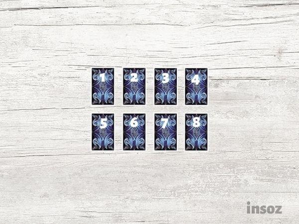 Расклад Из восьми карт