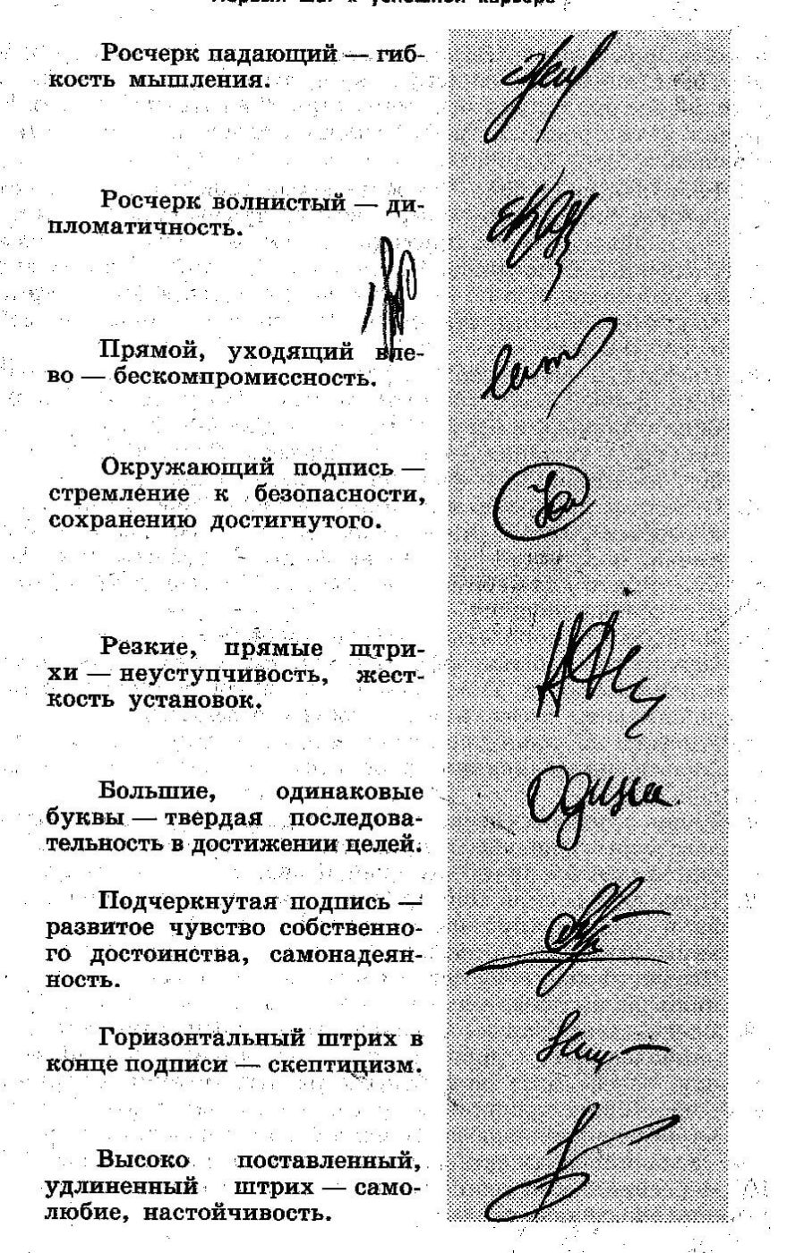 что говорит почерк о человеке